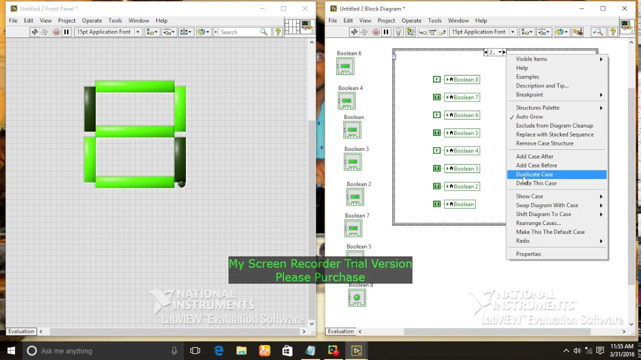 TUTORIAL 1 HOW TO MAKE SEVEN SEGMENT DISPLAY USING LABVIEW