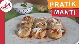 Pratik Milföy Hamurundan Patates Mantısı - Mantı Tarifleri - Nefis Yemek Tarifleri