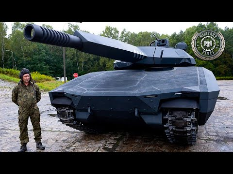 Poland's Futuristic PL-01 Stealth Tank Looks Like Something From Another Planet