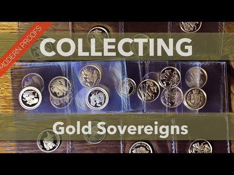 24 modern proof Sovereigns and a half guinea... lets talk sovereigns big time