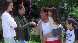 Preity zinta ,shahrukh khan ,saif khan and jaya bachan movie  DINNER INVITATION SCENE