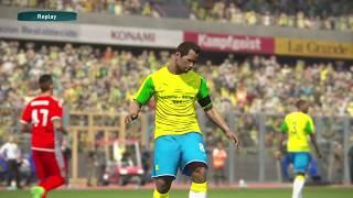 PS4 PES 2017 Gameplay Mamelodi Sundowns vs Wydad Casablanca HD
