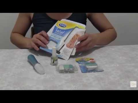 Velvet Smooth Kit Elettronico Nail Care di Scholl