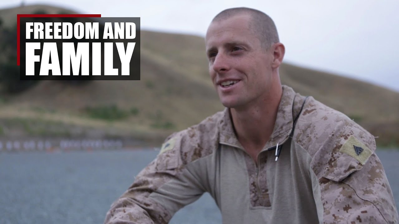 Reconnaissanceman, Marine, Father | Love for freedom and family