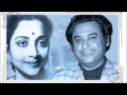 Geeta Dutt, Kishore Kumar : Nachati jhoomati muskuraati : Film - Miss Mala (1954)