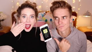 The Suggs Snapchat Q&A | Zoella