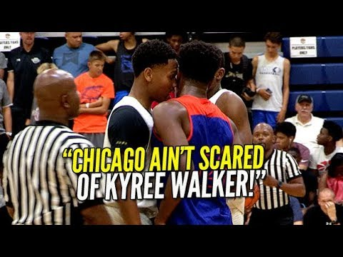 CHICAGO AINT SCARED OF KYREE WALKER! Mac Irvin Fire Vs Dream Vision!