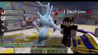 Minecraft- Pokemon opencase!  Ловим покемонов из сундука! Pixelmon server!