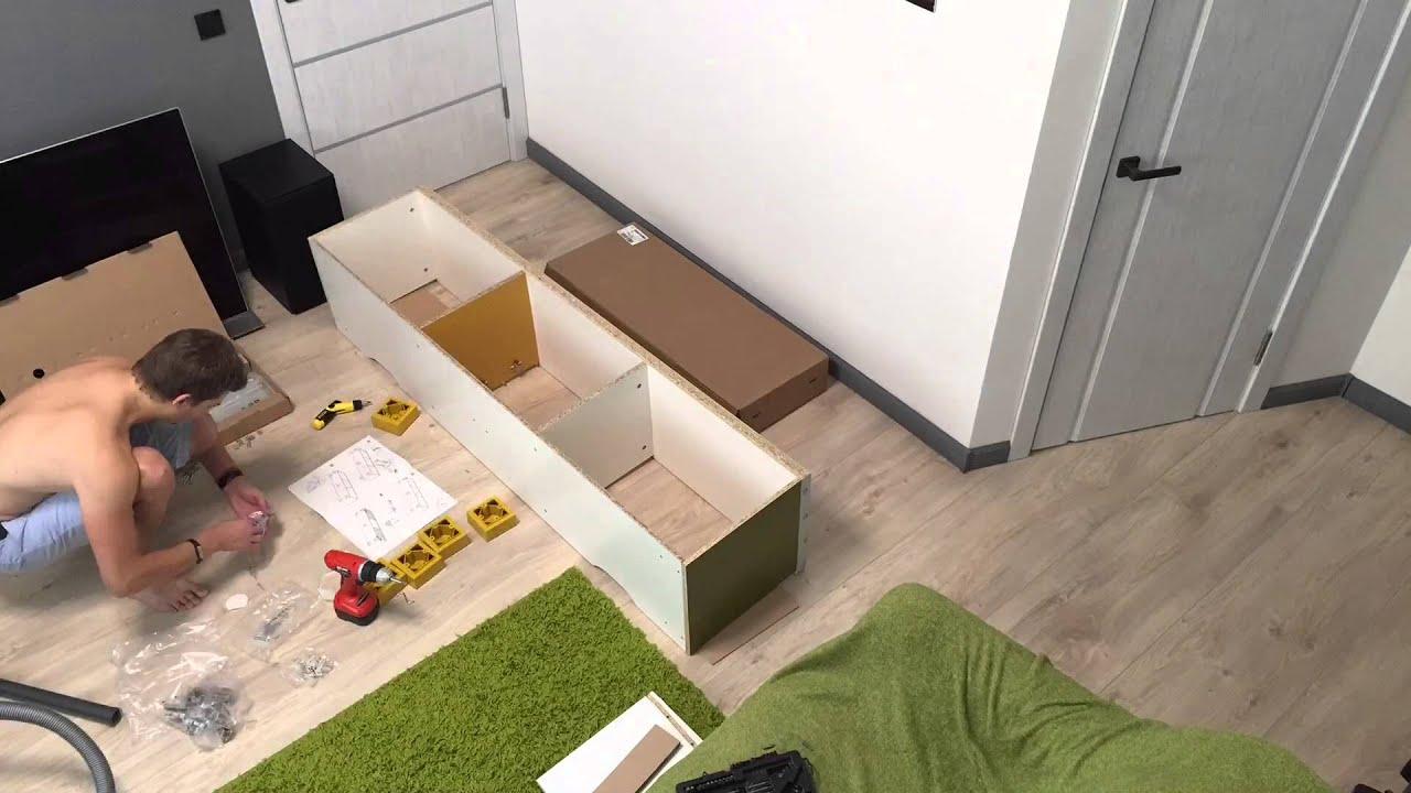 Ikea Besta Burs Assembly