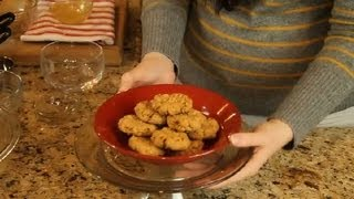 No-flour & No-sugar Peanut Butter Oat Cookies : Recipes For Diabetics