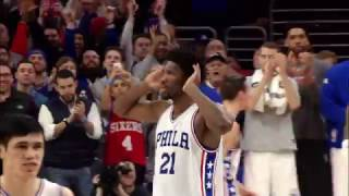 Joel Embiid Block Seals Victory for 76ers | 0...