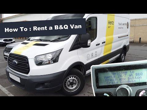 How To Rent B&Q Van Hire By The Hour Hertz Van