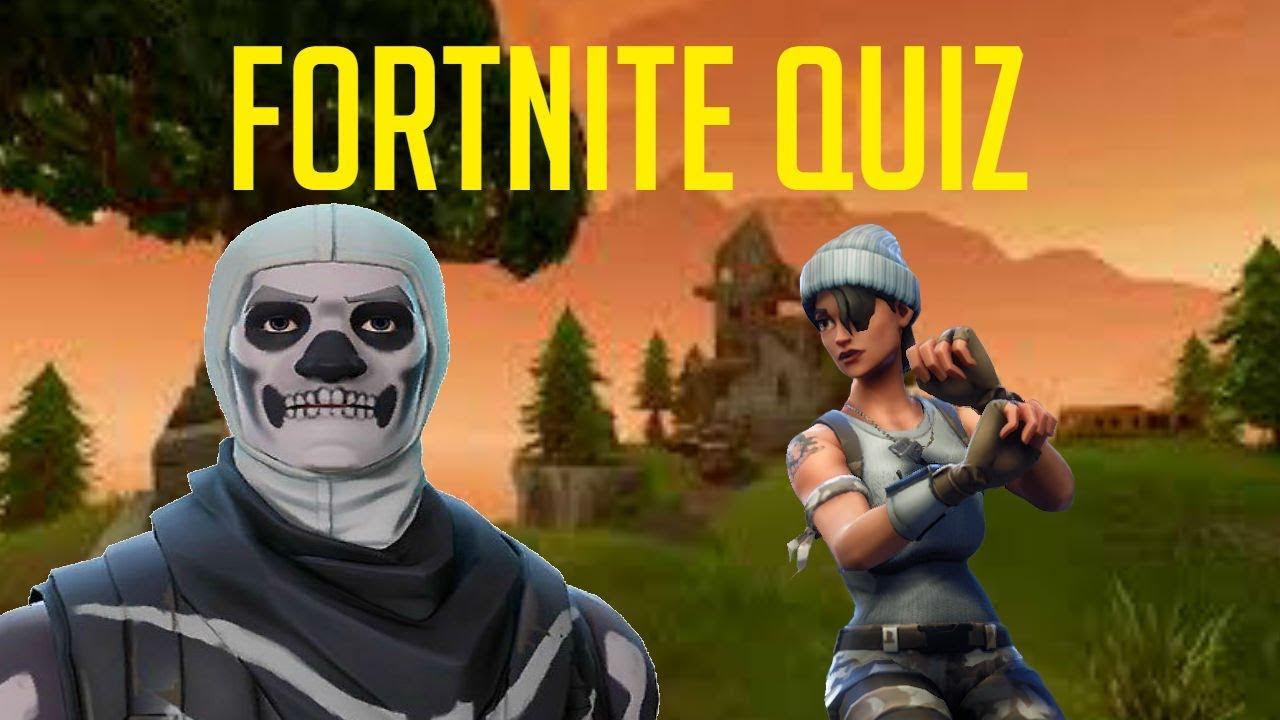 Fortnite Iq Test Quiz 10 Questions Youtube