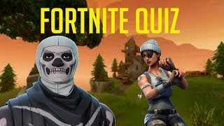 Fortnite IQ Test ( Quiz 10 Questions)