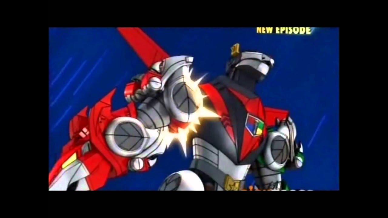 Ready to form Voltron! - YouTube