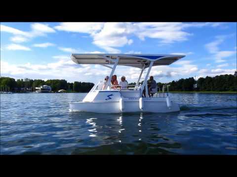 Solar Catamaran 1