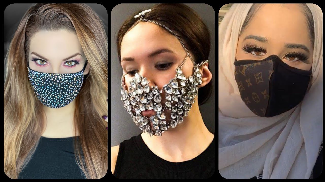 DiY #Surgical Face Mask ,#Fancy Face Mask For Girls,#Corona Face ...