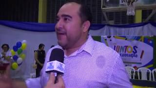 Projeto PETECA e Agrinho são destaques na fala do secretário de educação de Quixeré Miécio de Lima