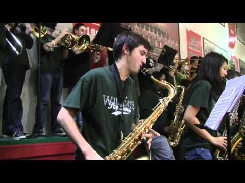 Crazy Train LNHS Pep Band