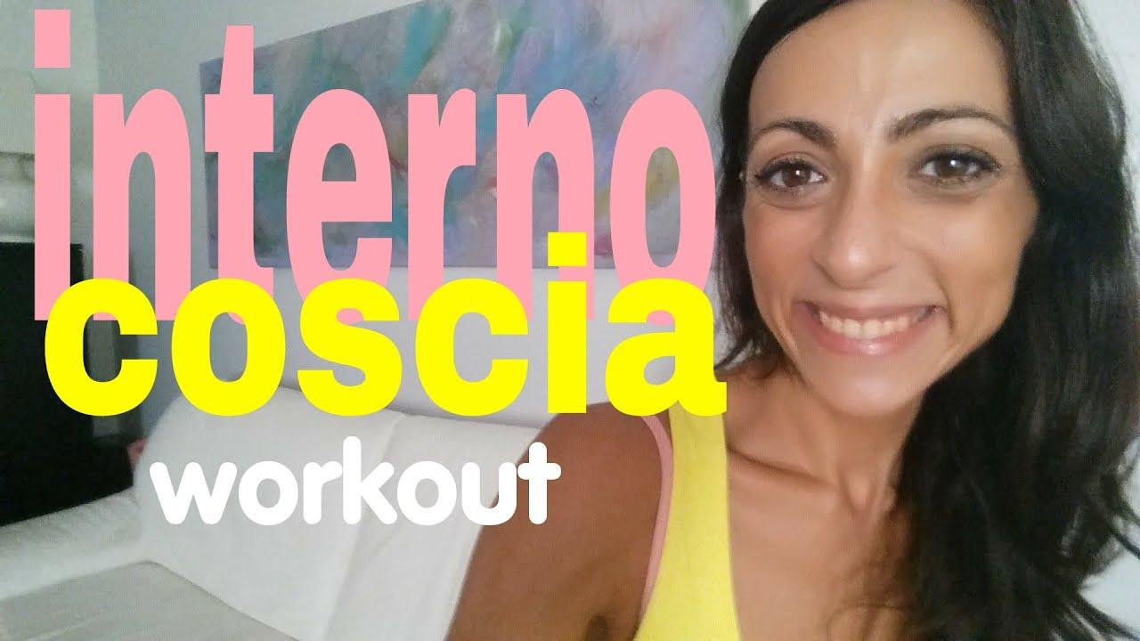 Interno coscia workout funziona youtube for Workout esterno coscia