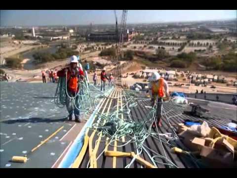 "Build It Bigger: ""Dallas Cowboys Stadium"""
