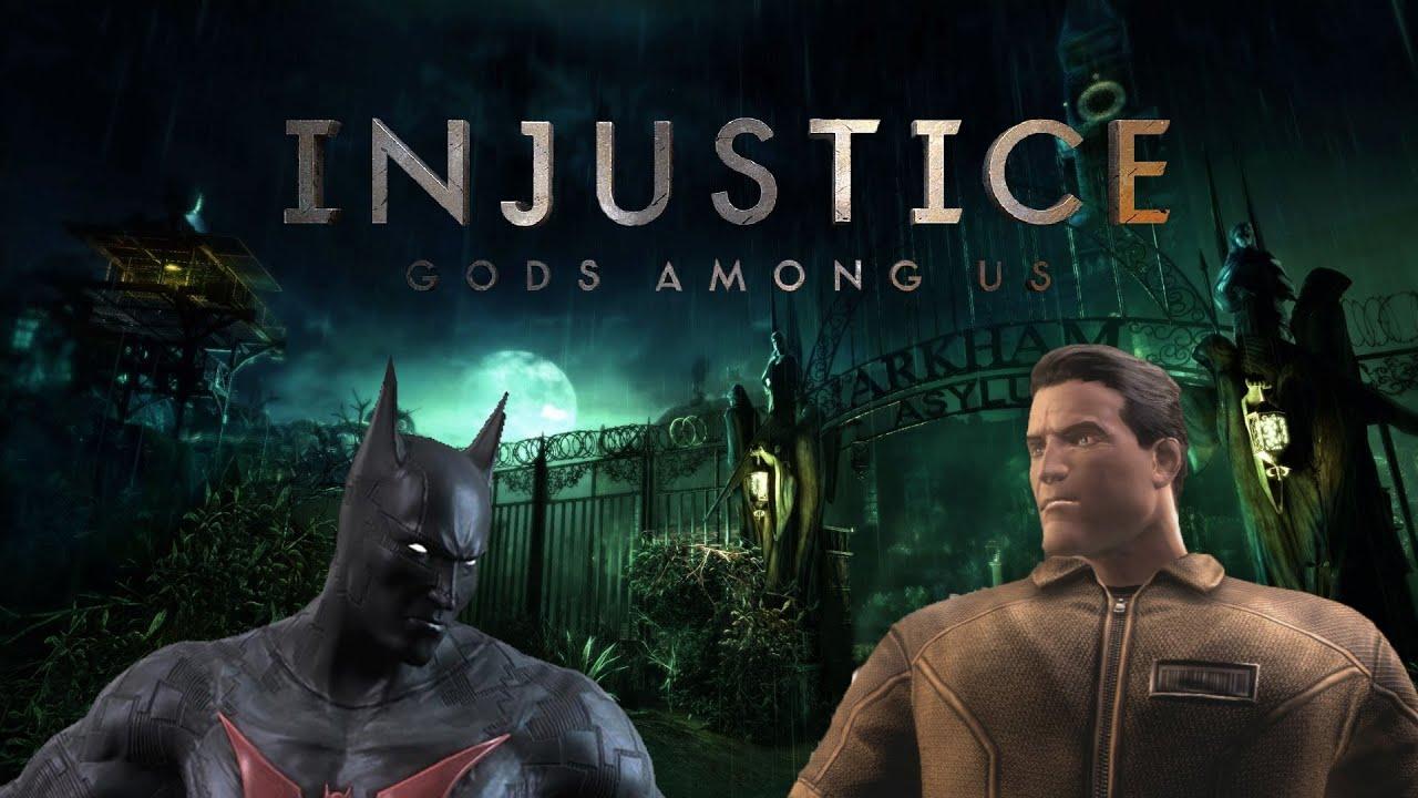 batman beyond vs superman lockdown injustice gods