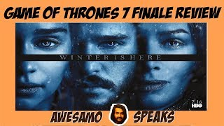 AWESAMO SPEAKS | GAME OF THRONES 7X7 FINALE REVIEW