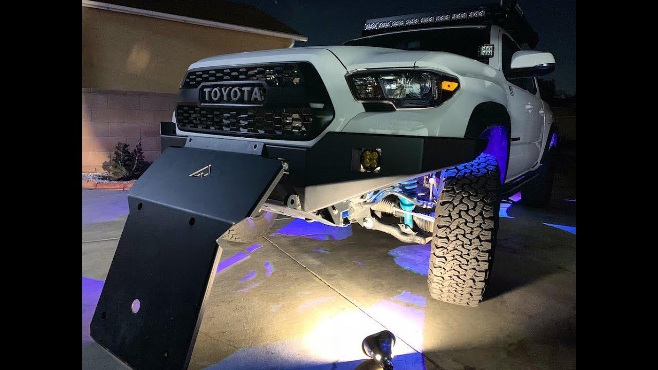 Toyota Tacoma Skid Plate Install You