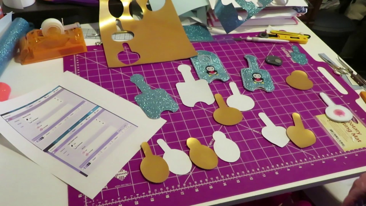 Machine Embroidery Vinyl Cut Settings For Silhouette Youtube