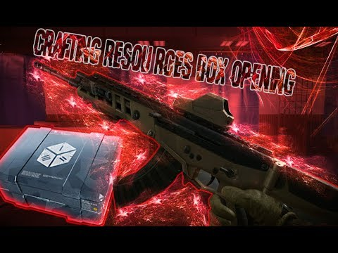 Warface Opening Crafting Resources Crates