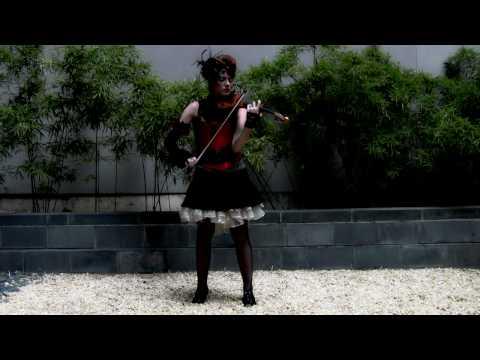 "Hannah Thiem - violinist  ""Comida del Corazon"" (for Lucent Dossier)"