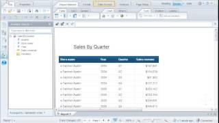إنشاء موجه لتحديد مجموعة فرعية من البيانات: SAP BusinessObjects ويب الاستخبارات 4.0