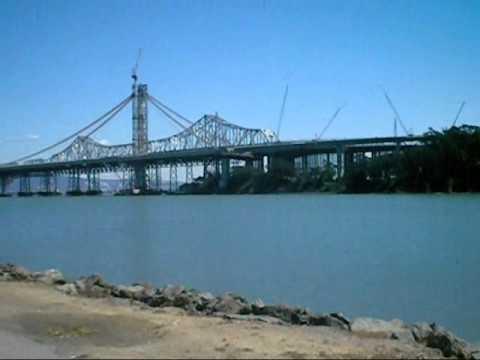 Views of San Francisco & Oakland from Treasure Island.wmv