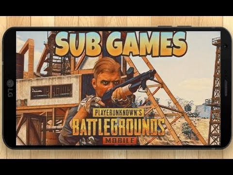 PUBG Mobile Sub Games | Tencent Gaming Buddy | PayTM Tips now show up on stream!