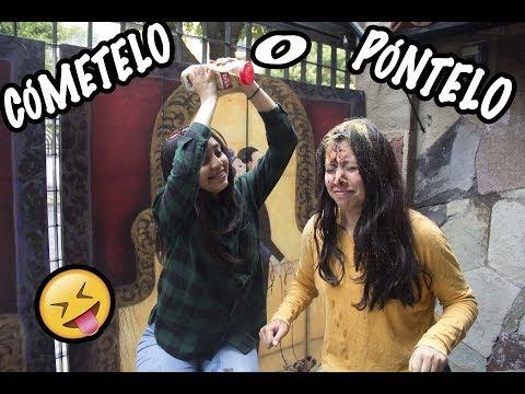 Cómetelo o Póntelo CHALLENGE!!! ft. KryExiga  +(challenge cinnamon)