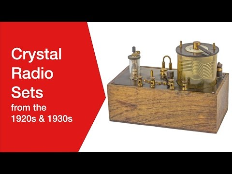 Crystal Radio Sets from 1920s & 1930s