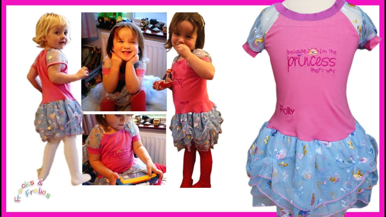 How to sew a fancy Dress - Step by Step Tutorial (Amelie Pattern ...
