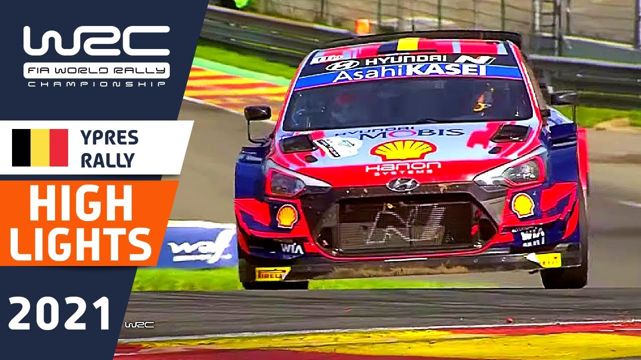WRC HIGHLIGHTS Sunday Morning : Renties Ypres Rally Belgium 2021: WRC Rally Highlights and Results