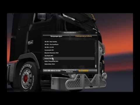 Euro Truck Simulator 2  Add Live Stream GREEK RADIO