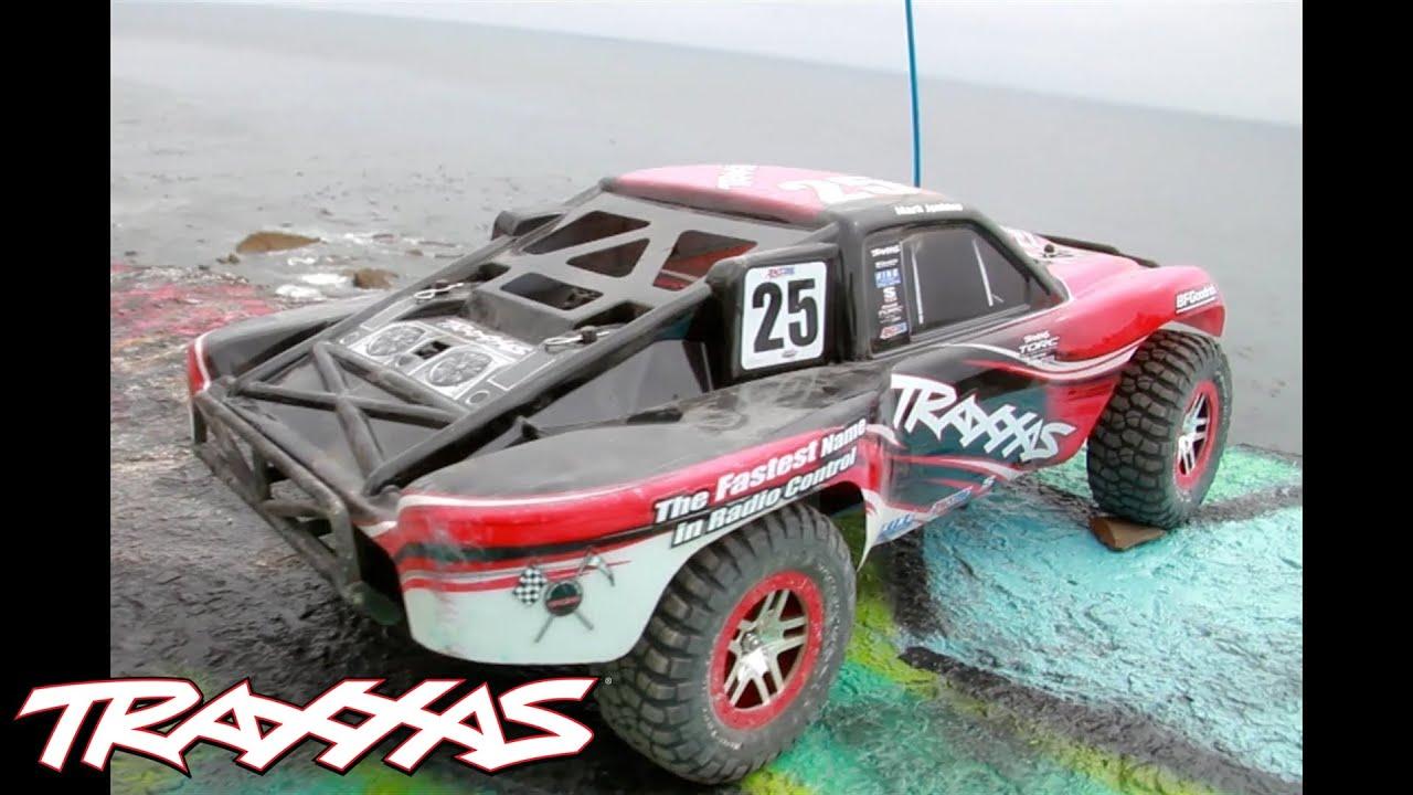 Traxxas Nitro Slash 3 3 1/10 2WD RTR SC Truck (Blue) w/TQ 2 4GHz Radio,  TSM, Battery & DC Charger