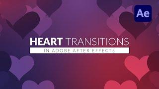 After Effects Trapcode Özellikle kullanarak Kalp bir Geçiş oluşturmak Öğretici