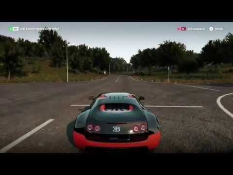 forza horizon 2 fully upgraded bugatti veyron super sport youtube. Black Bedroom Furniture Sets. Home Design Ideas