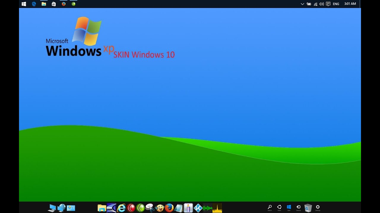 WINDOWS 10 - XP Classic Desktop - short review - For Power ... Windows 7 Classic Wallpaper