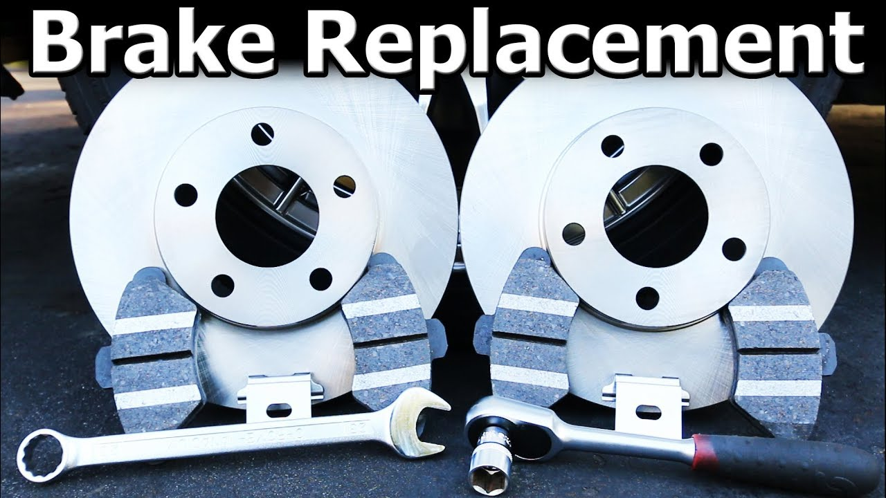 When To Replace Brake Pads >> How To Replace Brake Pads And Rotors Complete Guide Youtube