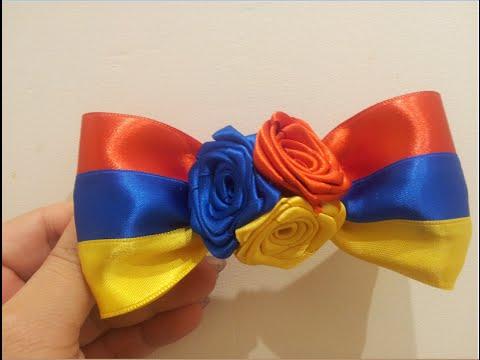 🎀 💐 Заколка для валос Армянский флаг 💐 🎀