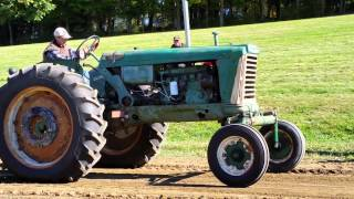 Hudson Valley Old Time Power tractor pull