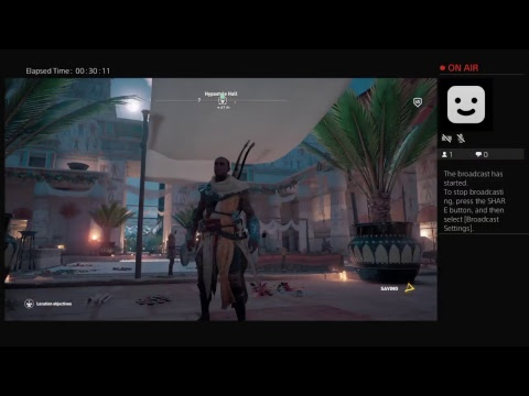AC Origins plus mode lvl 45+