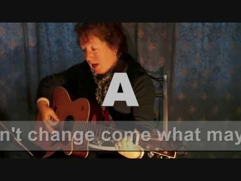 GUITAR FOR BEGINNERS - FOUR STRONG WINDS - Bernadette Dixon - YouTube