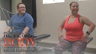 "Sam Goes to First ""Revenge Body"" Workout | Revenge Body With Khloé Kardashian | E!"