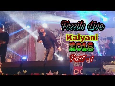 Fossils || Rupam Islam || Live at kalyani...